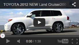 LAND CRUISER 200 DOUBLE EIGHT MOVIE